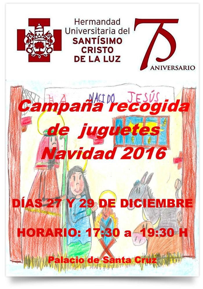 La Recogida Universitaria Juguetes Luz Cristo De Hermandad – 45L3AjR